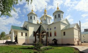 Крестовоздвиженский монастырь в Нижнем Новгороде