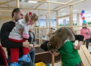 Контактный зоопарк в Нижнем Новгороде в ЦУМе