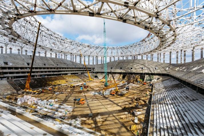 Стадион в нижнем новгороде к чм 2019 года - КалендарьГода в 2019 году