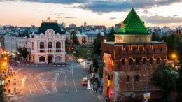 Площади Минина и Пожарского