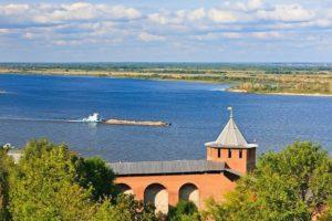 Река Волга в НН